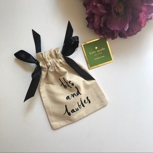 Kate Spade Jewelry Pouch/ Travel Bag NWT